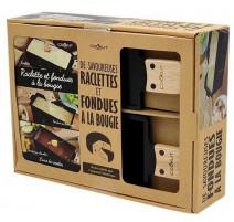 Coffret raclette à la bougie et fondue, Cookut