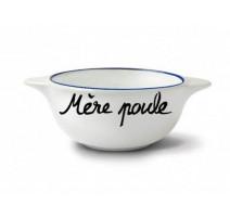 """Bol """" Mère Poule """", Pied de Poule"""