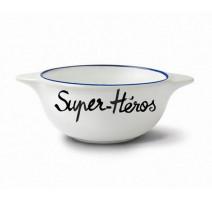 """Bol """" Super Héros """", Pied de Poule"""