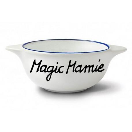 """Bol """" Magic Mamie """", Pied de Poule"""