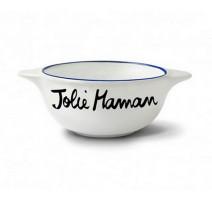 """Bol """"Jolie Maman """", Pied de Poule"""