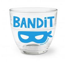 """Verre duralex """" Bandit """", Pied de Poule"""