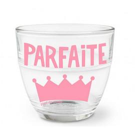 """Verre duralex """" Parfaite """", Pied de Poule"""