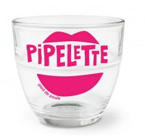 """Verre duralex """" Pipelette """", Pied de Poule"""