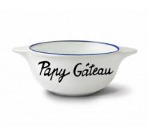 """Bol """" Papy gâteau """", Pied de Poule"""