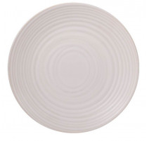 Service vaisselle Moon blanc, Table Passion