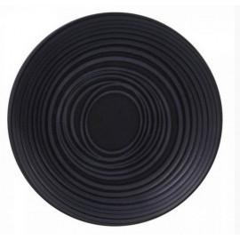 Service vaisselle Moon noir, Table Passion