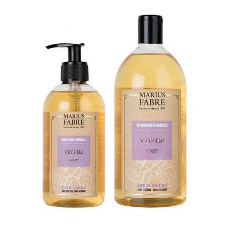 Savon liquide de Marseille Violette, Marius Fabre
