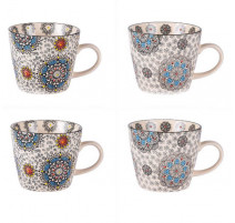 Coffret 4 tasses 30cl Samana, Table Passion