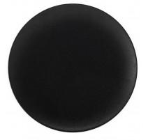Plat plat noir Caviar, Bruno Evrard