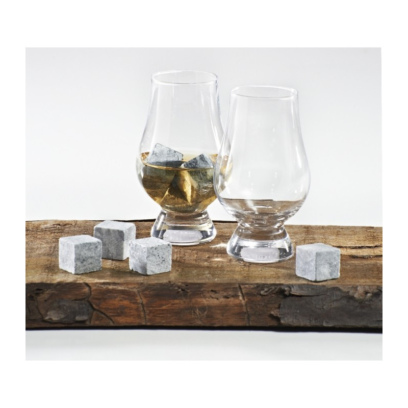 verre a whisky glencairn open bar en coffret x6. Black Bedroom Furniture Sets. Home Design Ideas