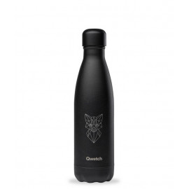 Bouteille isotherme Animal Tattoo Renard 500 ml, Qwetch