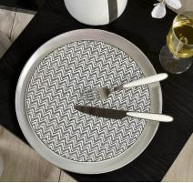 Service vaisselle Zigzag, Table Passion