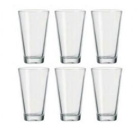 Coffret 6 verres long drink Ciao, Léonardo