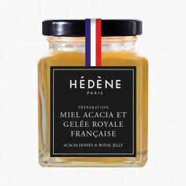 Miel Acacia et Gelée Royale Française 125 g, Hédène