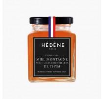 Miel Montagne aux Huiles Essentielles de Thym 125 g, Hédène