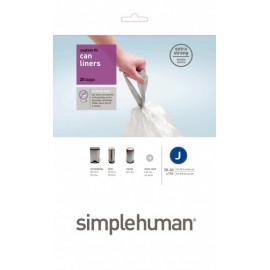 Sacs plastiques 38/40L-J, Simplehuman