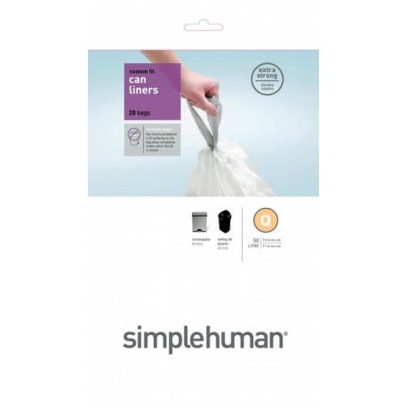 Sacs poubelle 50L-Q, Simplehuman