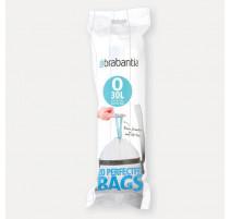 Sacs poubelle PerfectFit 30L O, Brabantia