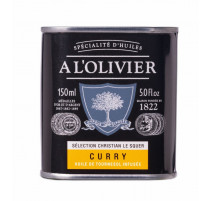 Huile de tournesol au curry, A L'OLIVIER