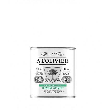 Huile pour dessert Verveine & Piment, A L'OLIVIER
