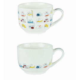 Coffret 2 jumbos Funny Chat, Table Passion