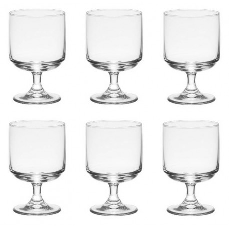 Coffret 6 verres Tower empilables, Trend Up