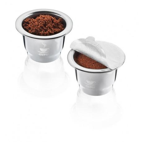 Lot de 2 capsules à café réutilisables Conscio, Gefu