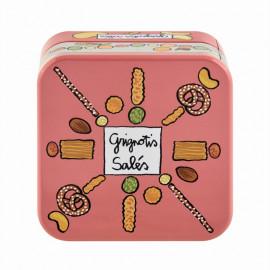 Boîte à apéro empilable Grignotis salés, Derrière la porte