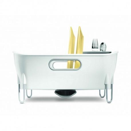 Égouttoir à vaisselle blanc Simplehuman