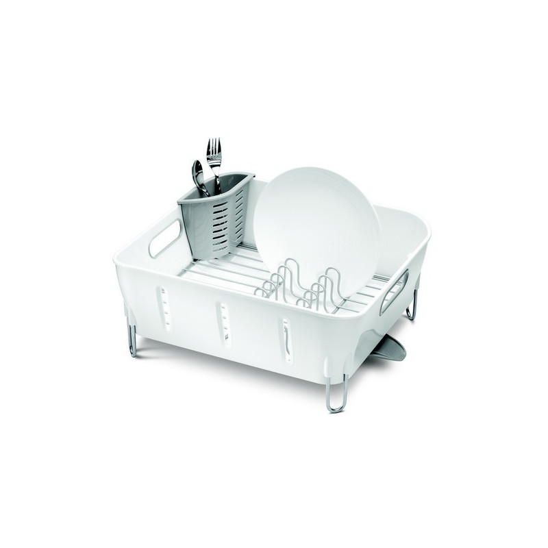 acheter gouttoir vaisselle blanc simplehuman. Black Bedroom Furniture Sets. Home Design Ideas
