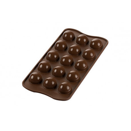 Moule chocolat 3D Tartufino, Silikomart
