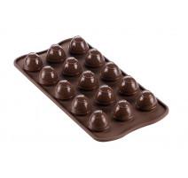 Moule chocolat 3D Choco Spiral , Silikomart