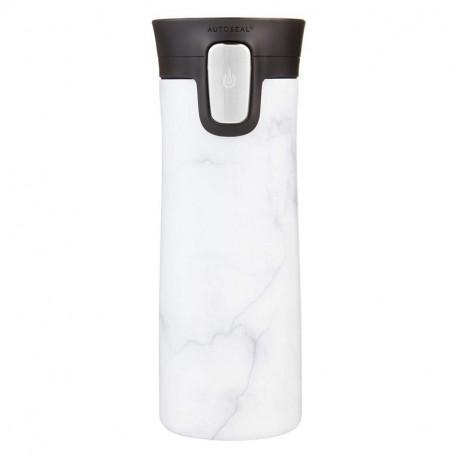 Mug isotherme Pinnacle Couture Marbre blanc, Contigo