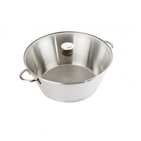 Bassine à confiture 34cm Grande Tablée, Cristel