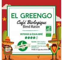 Café en grains Bio El Greengo 250 g, PFAFF
