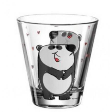 Verre enfant Bambini panda, Léonardo