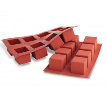Moule silicone Cubo, Silikomart