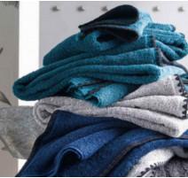 Linge Issey bleu stone, Harmony Textile