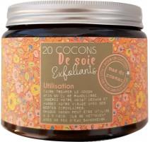 20 cocons de soie exfoliants, mas du roseau