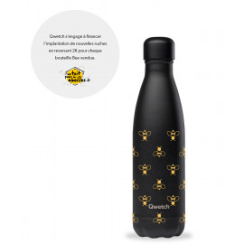 Bouteille isotherme Bee 500ml, Qwetch