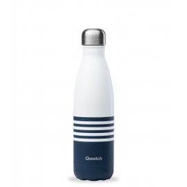 Bouteille isotherme marinière 500ml, Qwetch