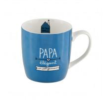 Mug Papa gourmand, Derrière la porte