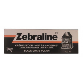 Zebraline : crème décor acier & fonte