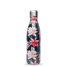 Bouteille isotherme Tropical noir, Qwetch