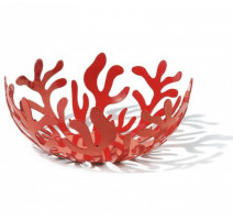 Coupe à fruits Mediterraneo 29cm rouge Alessi