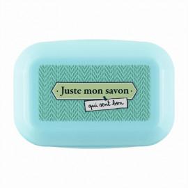Boîte à savon Juste Mon savon, Derrière la porte