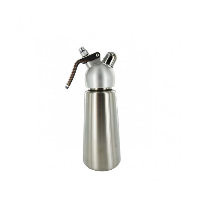 Acheter siphon chantilly 0 5l inox et alu for Acheter un siphon de cuisine