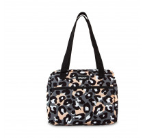 Lunchbag réfrigérant Hampton Wild Leopard Gray, Packit