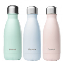 Bouteille isotherme Pastel 260 ml, Qwetch